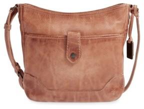 Frye Melissa Button Crossbody Bag - Beige