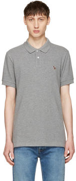 Paul Smith Grey Zebra Polo