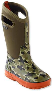 L.L. Bean Kids' Bogs Boots, Classic Camo