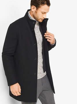 Michael Kors Wool-Melton Car Coat