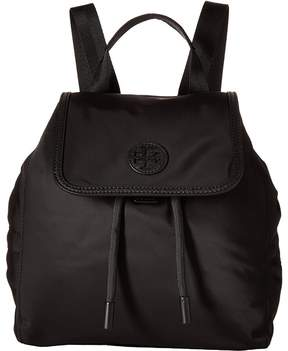 Tory Burch Scout Nylon Small Backpack Backpack Bags - BLACK - STYLE