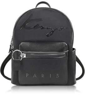 Kenzo Women's Black Fabric Backpack.