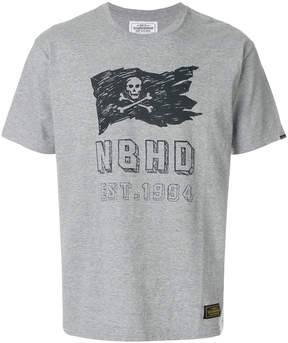Neighborhood logo patch T-shirt