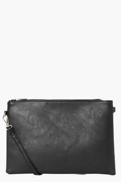 boohoo Millie Zip Top Cross Body Bag
