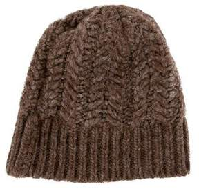Dolce & Gabbana Boys' Marbled Cable Knit Beanie