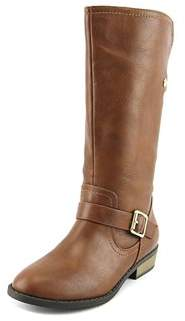 Jessica Simpson Ladera Youth Round Toe Synthetic Brown Mid Calf Boot.