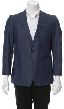 Ovadia & Sons Ovadia and Sons Chambray Blazer
