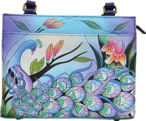 Anuschka Anna By ANNA by Hand Painted Leather Mini Satchel 8355 (Women's)