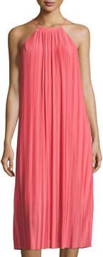 Cynthia Steffe Quinn Pleated Midi Dress, Pink