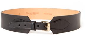 MAISON BOINET Corset Leather Belt - Black