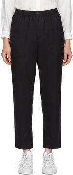 Blue Blue Japan Navy Relax Trousers
