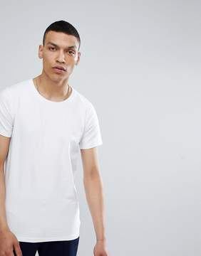 Lindbergh Stretch Crew Neck T-Shirt in White
