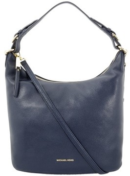 Michael Kors Lupita Large Admiral Leather Ladies Hobo Handbag 30F6GL6H3L414 - ONE COLOR - STYLE
