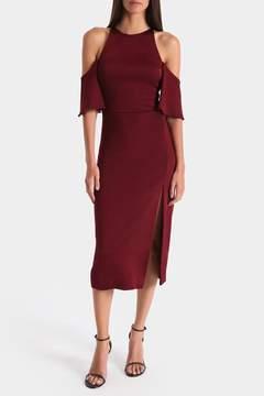 Cushnie et Ochs | Auburn Mona Pencil Dress | M | Brown