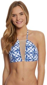 Bikini Lab Swimwear TieDye Another Day High Neck Bikini Top - 8153504