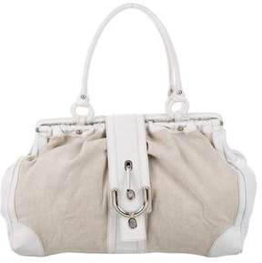 Tod's Leather & Canvas Bag