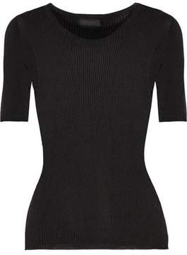 Calvin Klein Collection Amanda Ribbed-Knit Sweater
