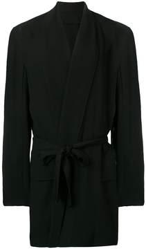Ann Demeulemeester lightweight tied jacket