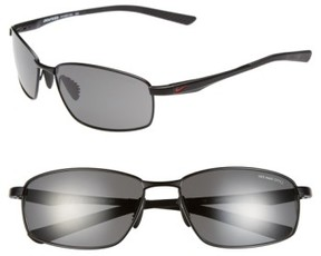 Nike Men's 'Avid' 57Mm Sunglasses - Black