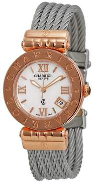 Charriol Alexandre Mother of Pearl Dial Laides Watch