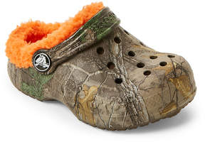 Crocs Toddler/Kids Boys Baya Lined Realtree Xtra Clogs