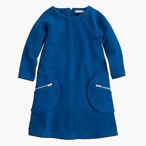 J.Crew Girls' shift dress with zippers