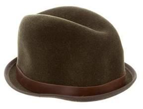Rag & Bone Wool Leather-Trimmed Hat