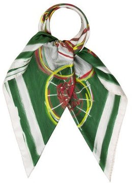Hermes New Springs Silk Scarf
