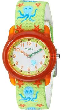 Timex Analog Elastic Fabric Strap Watches