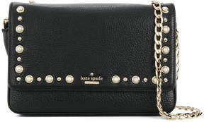 Kate Spade stud detail shoulder bag - BLACK - STYLE