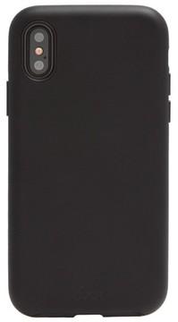 Sonix Faux Leather Iphone X Case - Black