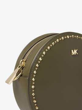 MICHAEL Michael Kors Studded Leather Canteen Crossbody