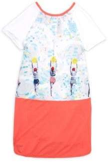 Catimini Little Girl's & Girl's Print T-Shirt Dress