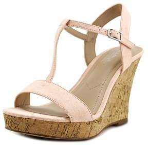 Charles David Charles By Libra Women US 11 Pink Wedge Sandal