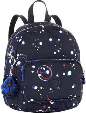 Kipling Munchin patterned nylon backpack - GALAXY PARTY - STYLE