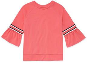 Arizona Bell Sleeve Sporty Top - Girls' 4-16 & Plus
