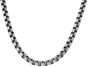 JCPenney FINE JEWELRY Mens Stainless Steel Necklace