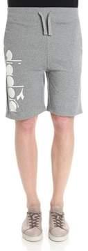 Diadora Men's Grey Cotton Shorts.