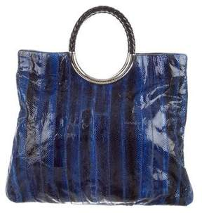 Michael Kors Watersnake Skorpios Bag - BLUE - STYLE