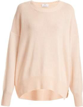 Allude Round-neck cashmere sweater