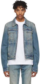 Helmut Lang Reversible Blue Denim Mr. 87 Jacket