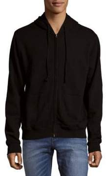 Jean Shop Cotton Embroidered graphic Hoodie