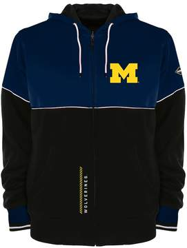 NCAA Men's Franchise Club Michigan Wolverines Shield Reversible Hooded Jacket