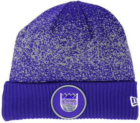 New Era Sacramento Kings On Court Collection Cuff Knit Hat