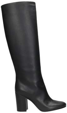 Lerre Black Calf Leather Boots