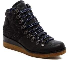 Dolce Vita Sirena Leather Wedge Boots