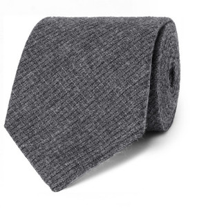 Oliver Spencer 8cm Mélange Cotton-Jacquard Tie