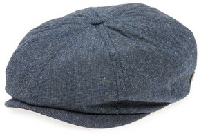 Brixton Men's 'Brood' Driving Cap - Blue