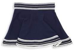 Milly Minis Toddler's, Little Girl's& Girl's Woven Trim Skirt