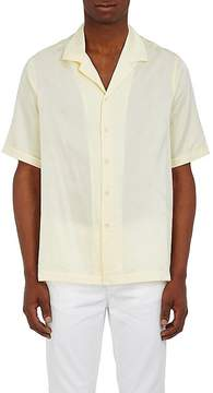 Ksubi Men's Trop Motel Palm Jacquard Silk-Cotton Shirt